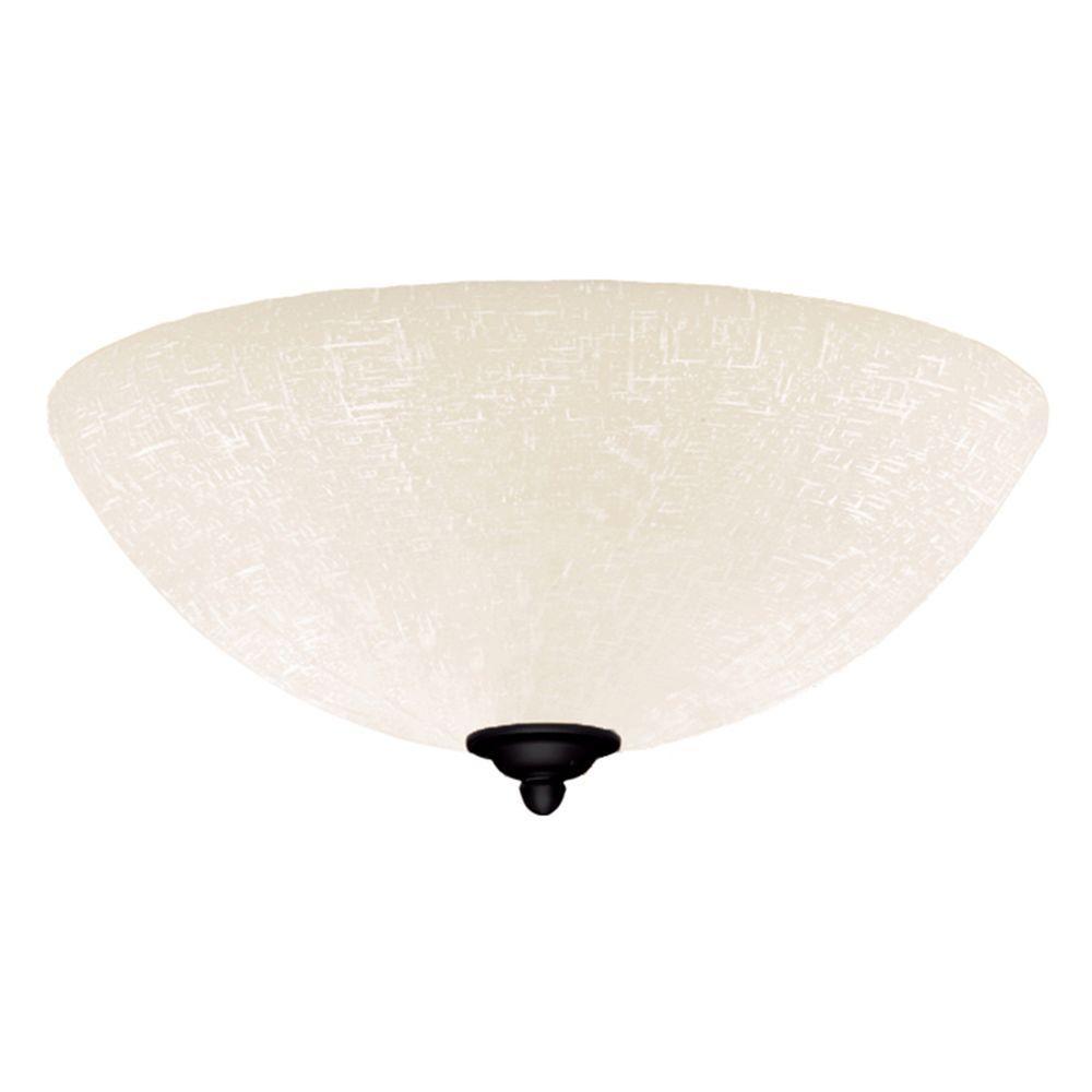 Illumine Zephyr 3-Light Barbeque Black Ceiling Fan Light Kit