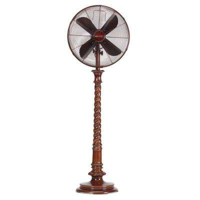 16 in. Raleigh Deco Standing Floor Fan