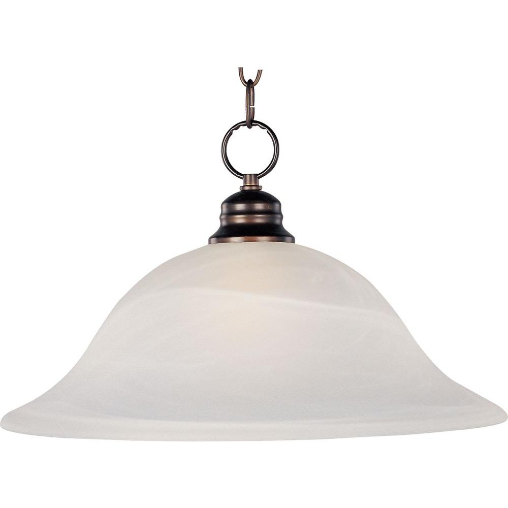 Maxim Lighting Essentials Oil-Rubbed Bronze 9106x-Single Pendant Maxim Lighting's commitment to both the residential lighting and the home building industries will assure you a product line focused on your lighting needs. With Maxim Lighting you will find quality product that is well designed, well priced and readily available.