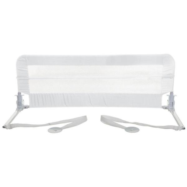 White 43 in. Bed Rail for Twin, Standard and Queen Beds