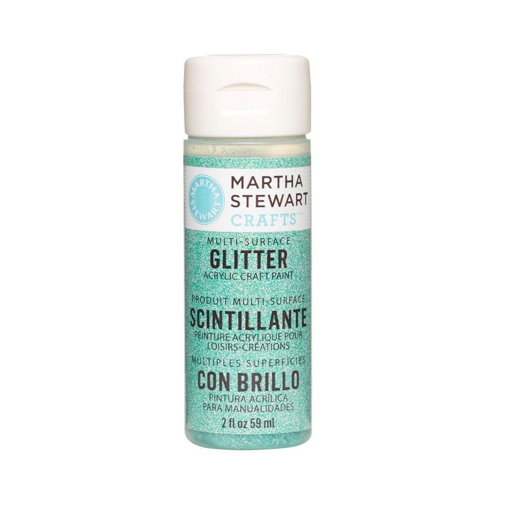 Martha Stewart Crafts 2-oz. Feldspar Multi-Surface Glitter Acrylic Craft Paint