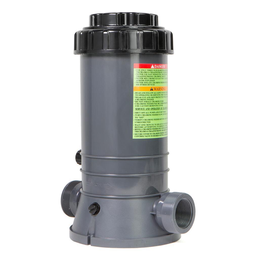 Automatic Chlorine Bromine Chemical Feeder Inground Pool, 9 lbs.