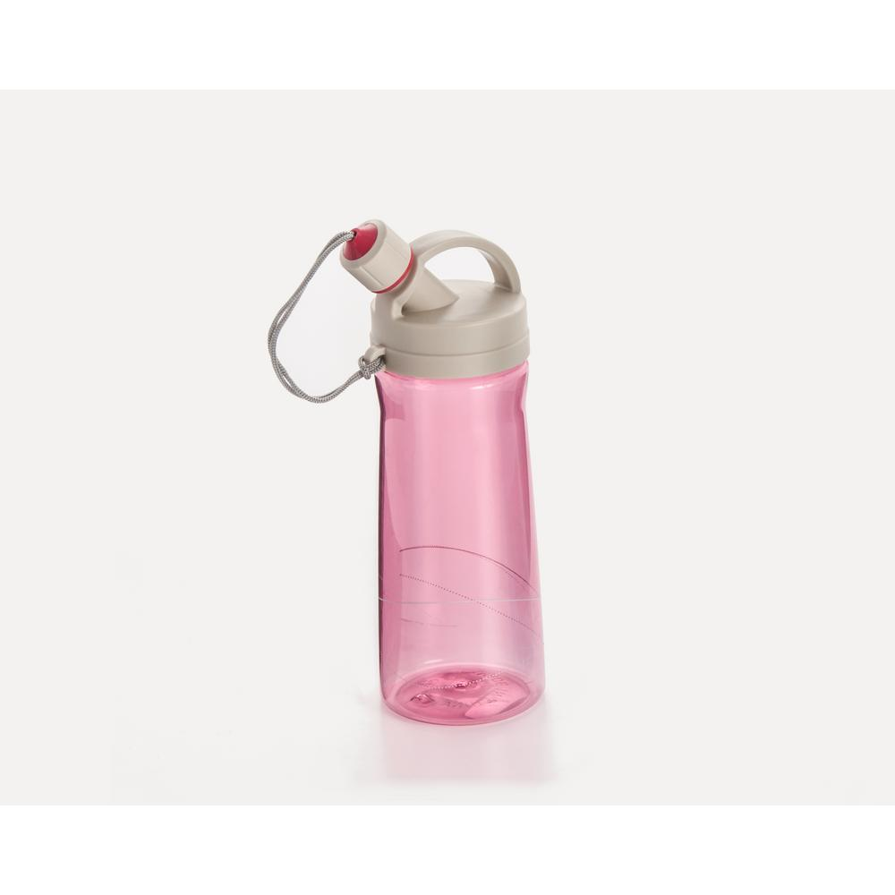 27 oz. Pink Tritan Infused Water Bottle with Drinking Spout