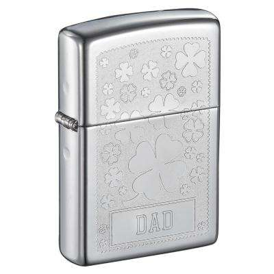 Zippo Clover Design Father's Day Lighter