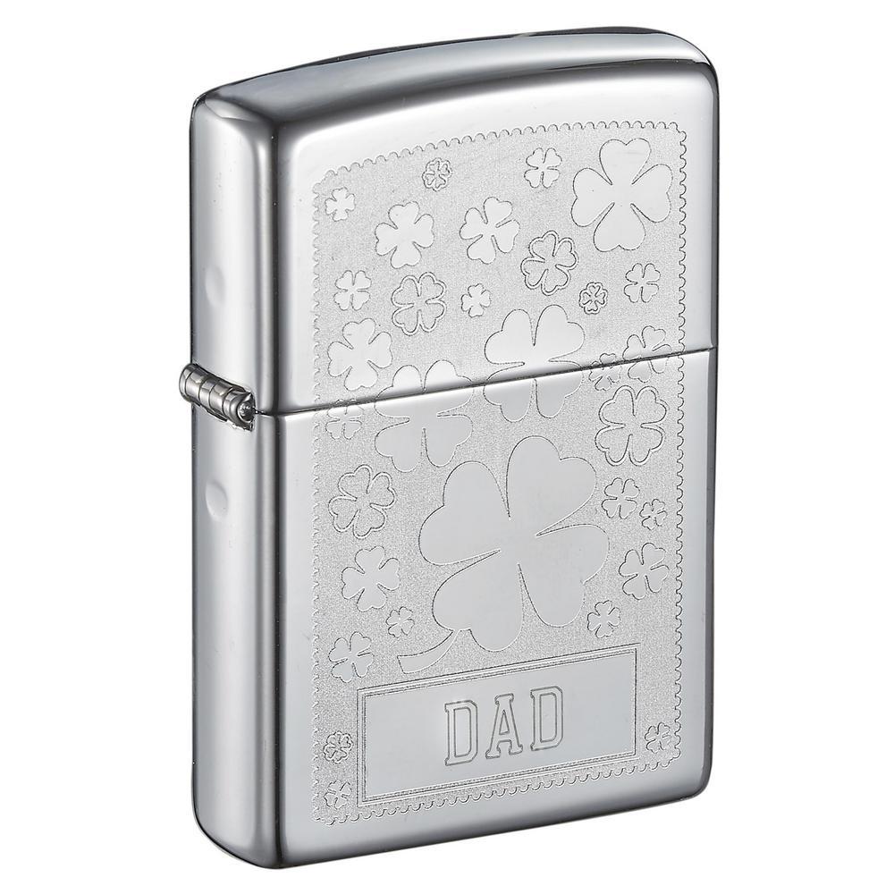 Zippo Clover Design Father's Day Lighter