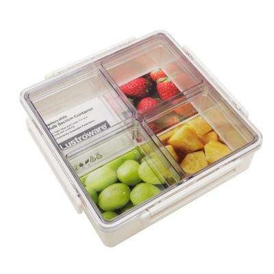 9.3in W x 2.8in. H x 9.3in. D Modular Serving Tray