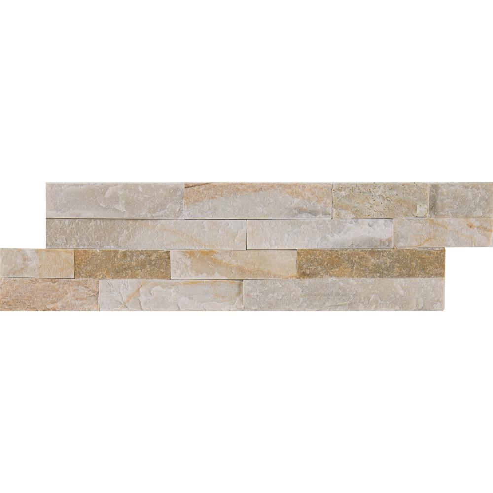 Quartz tile flooring the home depot golden honey mini ledger panel 45 in x 16 in natural quartzite wall tile dailygadgetfo Gallery