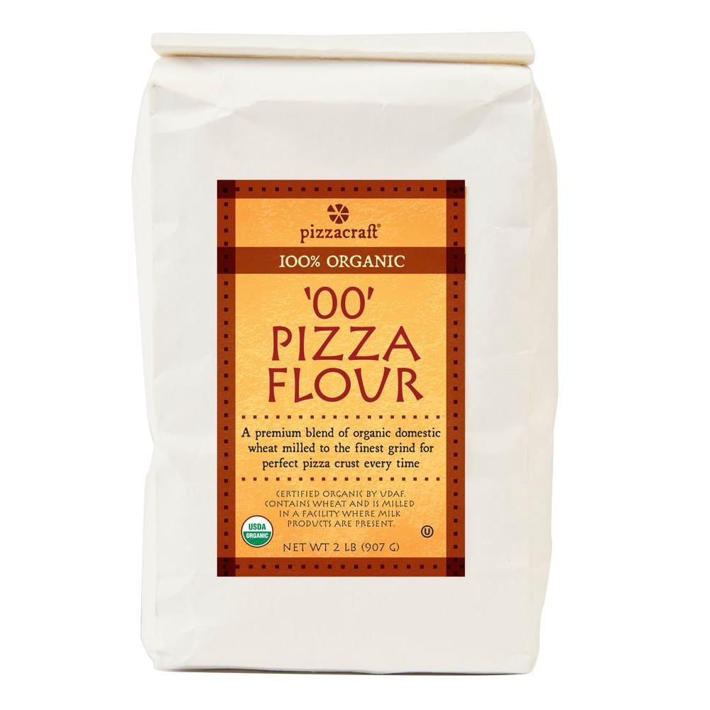 2 lbs. Organic 'OO' Pizza Flour