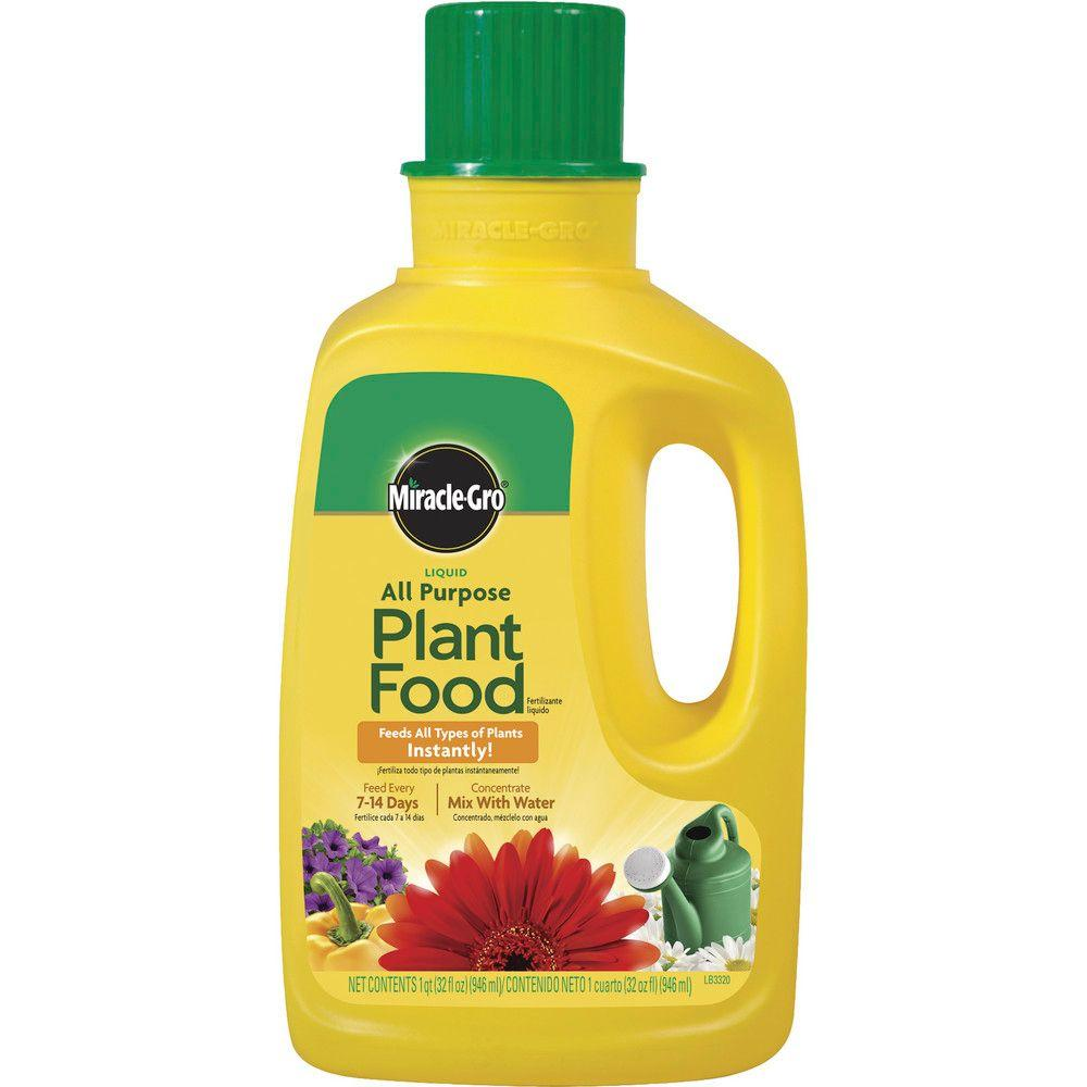 Miracle-Gro Liquid All Purpose 32 oz  Plant Food Concentrate