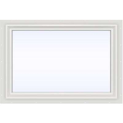 35.5 in. x 23.5 in. V-2500 Series Fixed Picture Vinyl Window - White