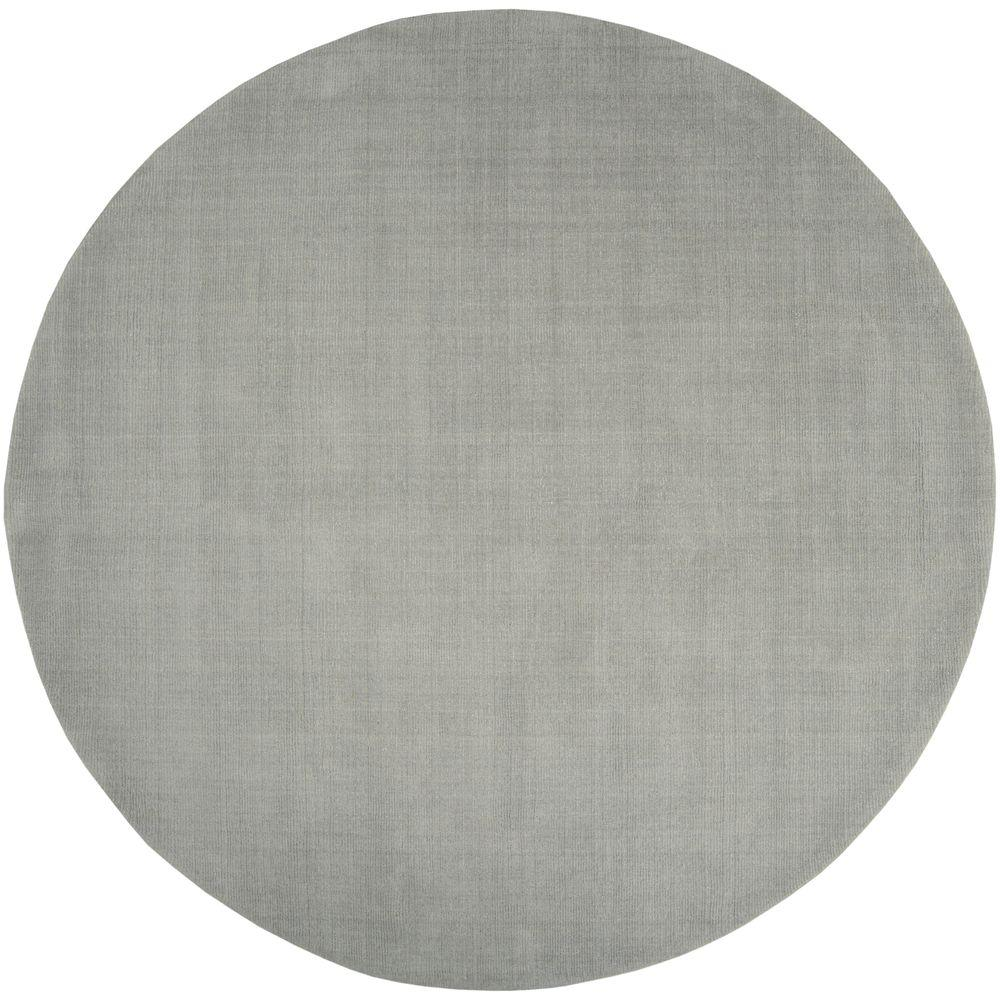 Artistic Weavers Falmouth Light Gray 8 ft. x 8 ft. Round Indoor Area Rug