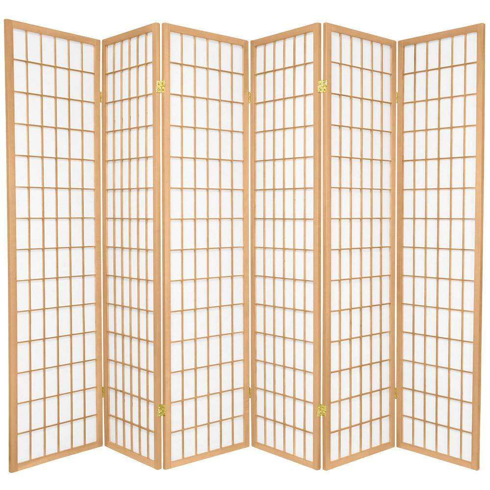 Amazing 6 Ft Natural 6 Panel Room Divider Download Free Architecture Designs Embacsunscenecom