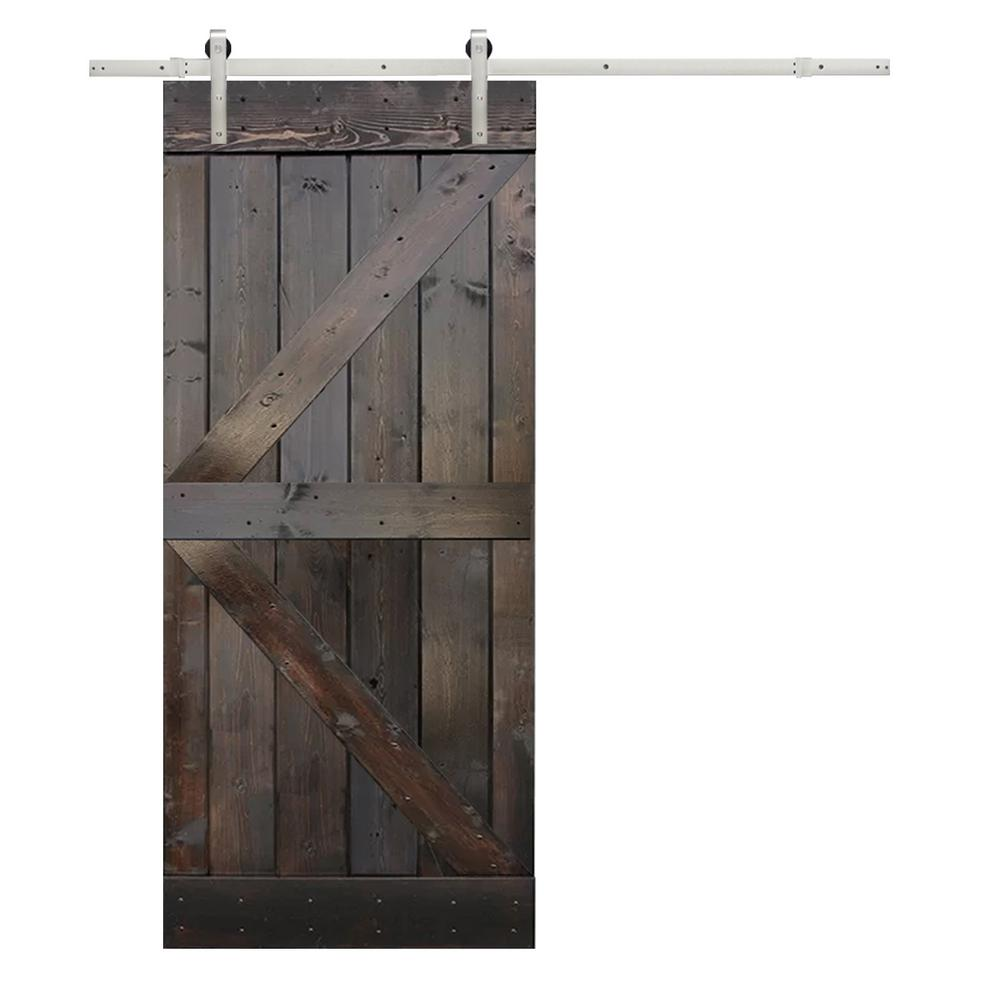 K Design Primed Solid Pine Wood Barn