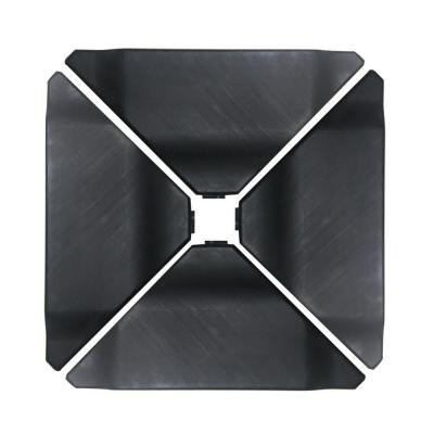 180 lbs. Plastic Patio Umbrella Base Weights in Black