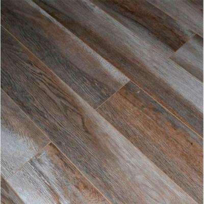 Normal Ash Oak 12 mm Thick x 5.7 in. Wide x 48 in. Length Click-Locking Laminate Flooring Planks (13.27 sq. ft. / case)