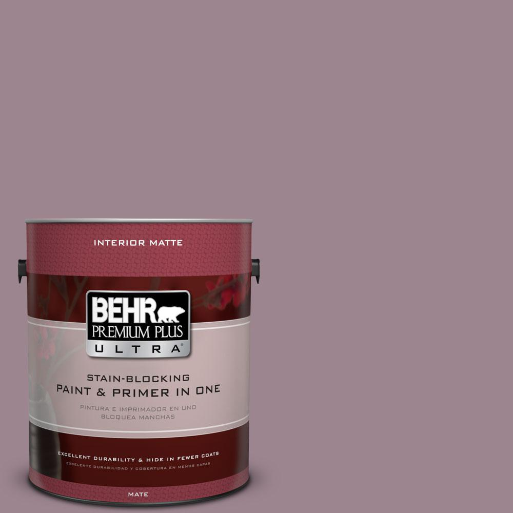 1 gal. #PPU17-14 Dream Sunset Matte Interior Paint and Primer in