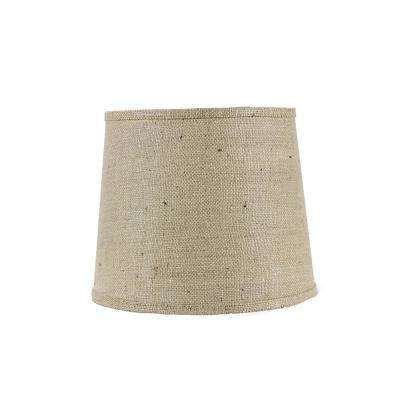 14 in. x 11 in. Natural Brown Lamp Shade