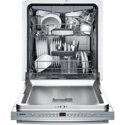 800 Series 24 in. ADA Top Control Dishwasher in Stainless Steel with Stainless Steel Tub and 3rd Rack, 44dBA