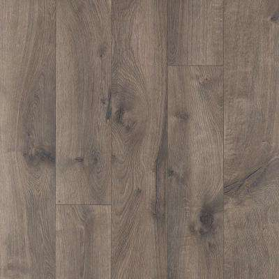XP Warm Grey Oak 8 mm Thick x 6-1/8 in. Wide x 47-1/4 in. Length Laminate Flooring (16.12 sq. ft. / case)