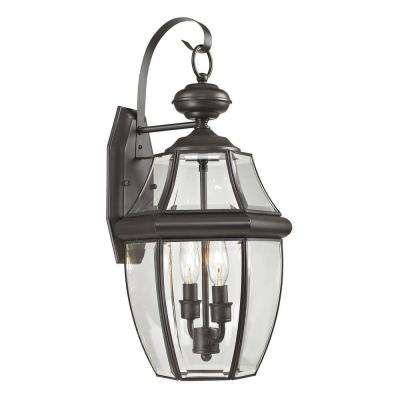 Ashford 2-Light Outdoor Oil Rubbed Bronze Sconce