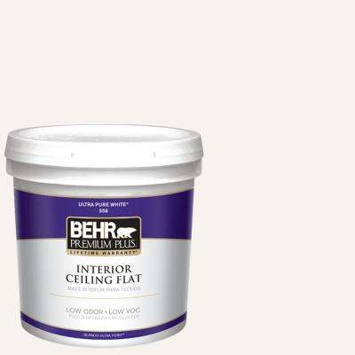 2 gal. Ultra Pure White Ceiling Flat Interior Paint