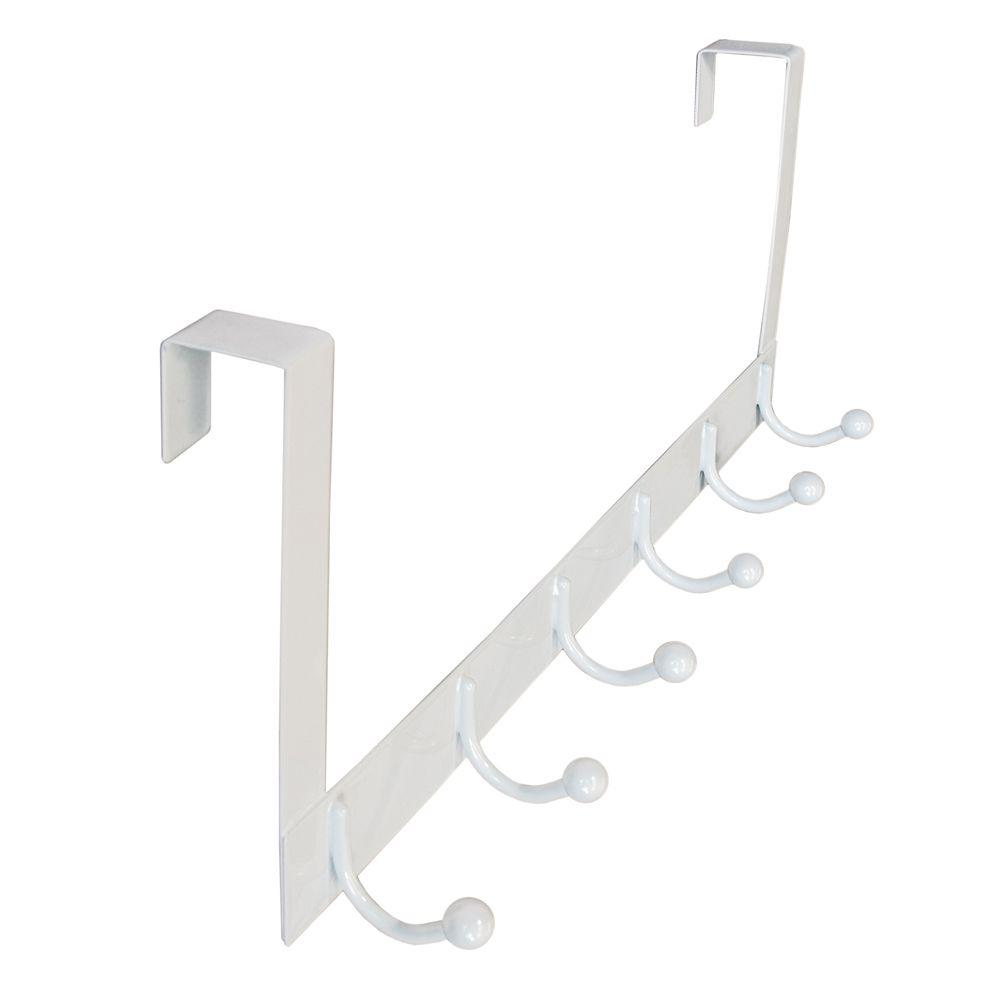 Richelieu Hardware Nystrom 20 In White 33 Lbs Over The Door Hook Rail With