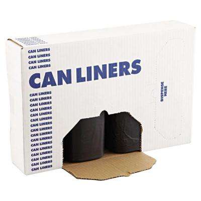 60 Gal. Black Super-Heavy Grade Can Liners (100-Count)