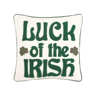 18 in. x 18 in. Luck of the Irish Pillow