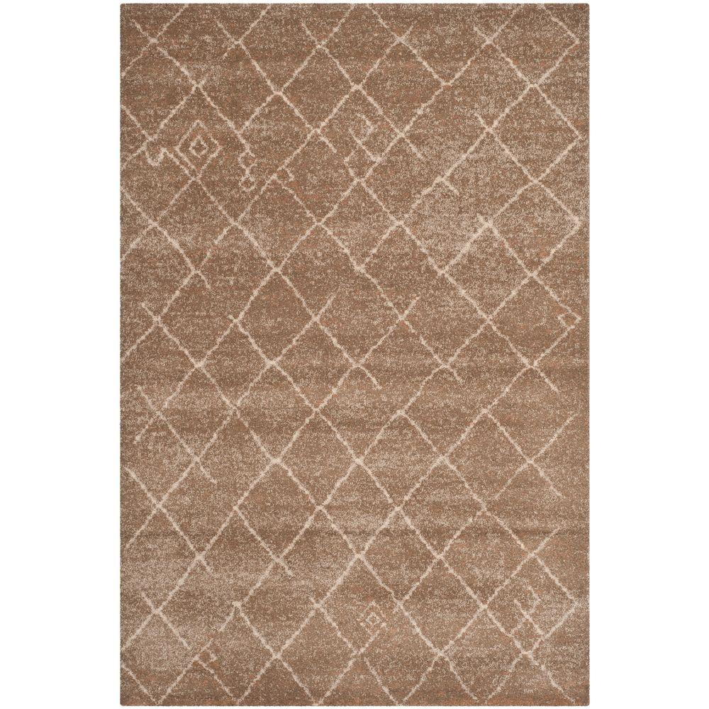 Safavieh Tunisia Brown 5 ft. x 8 ft. Area Rug