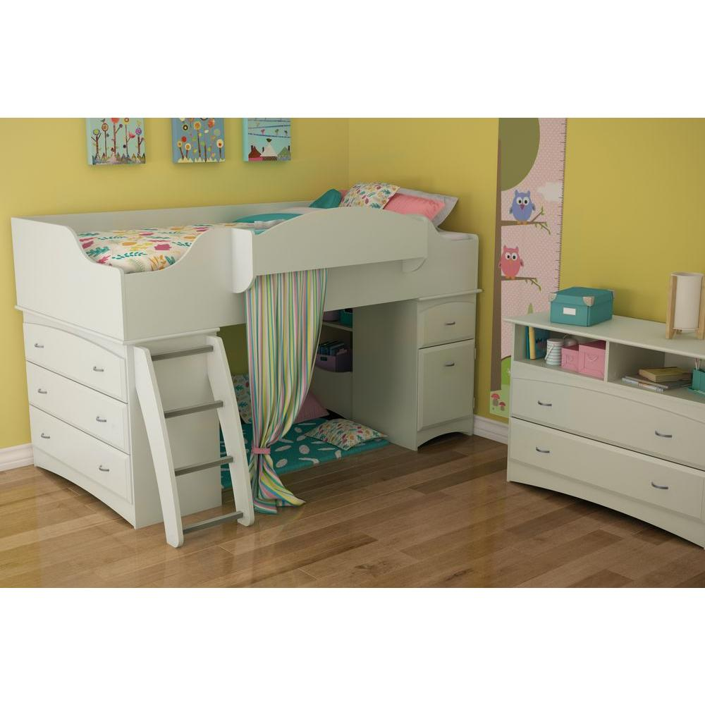 Imagine 2-Drawer White Chest