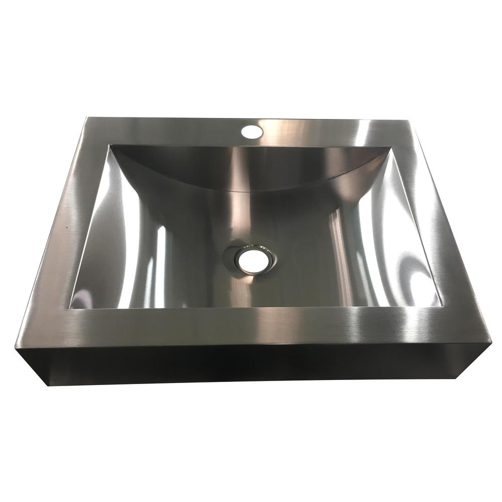 undermount bathroom sink in stainless steel. y decor hardy  in undermount bathroom sink in stainless steel