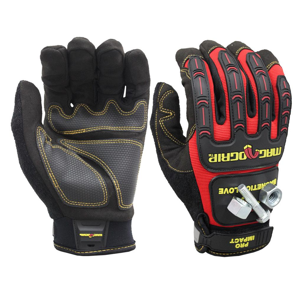 Pro Impact Large Magnetic Utility Gloves with