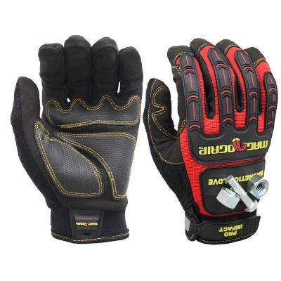 Pro Impact Large Magnetic Utility Gloves with Touchscreen Technology