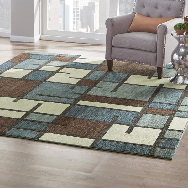 Home Decorators Collection Fairfield Beige 8 Ft X 10 Ft Area Rug 602475 The Home Depot