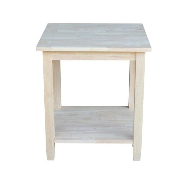 Solano Unfinished End Table