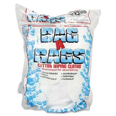 1 lb. Cotton Wiping Cloths (10 Cloths Per Bag)