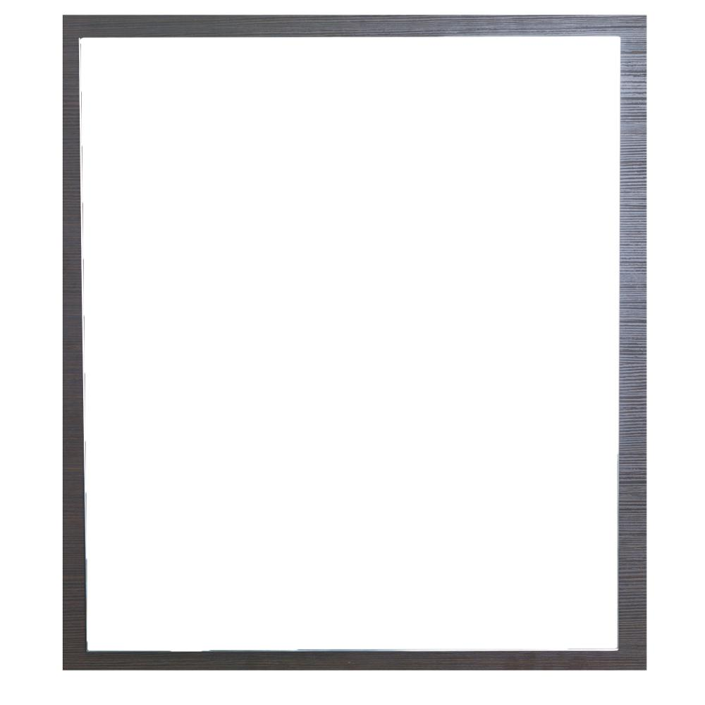 Reflection 24 in. W x 26.77 in. Framed Wall Mounted Vanity