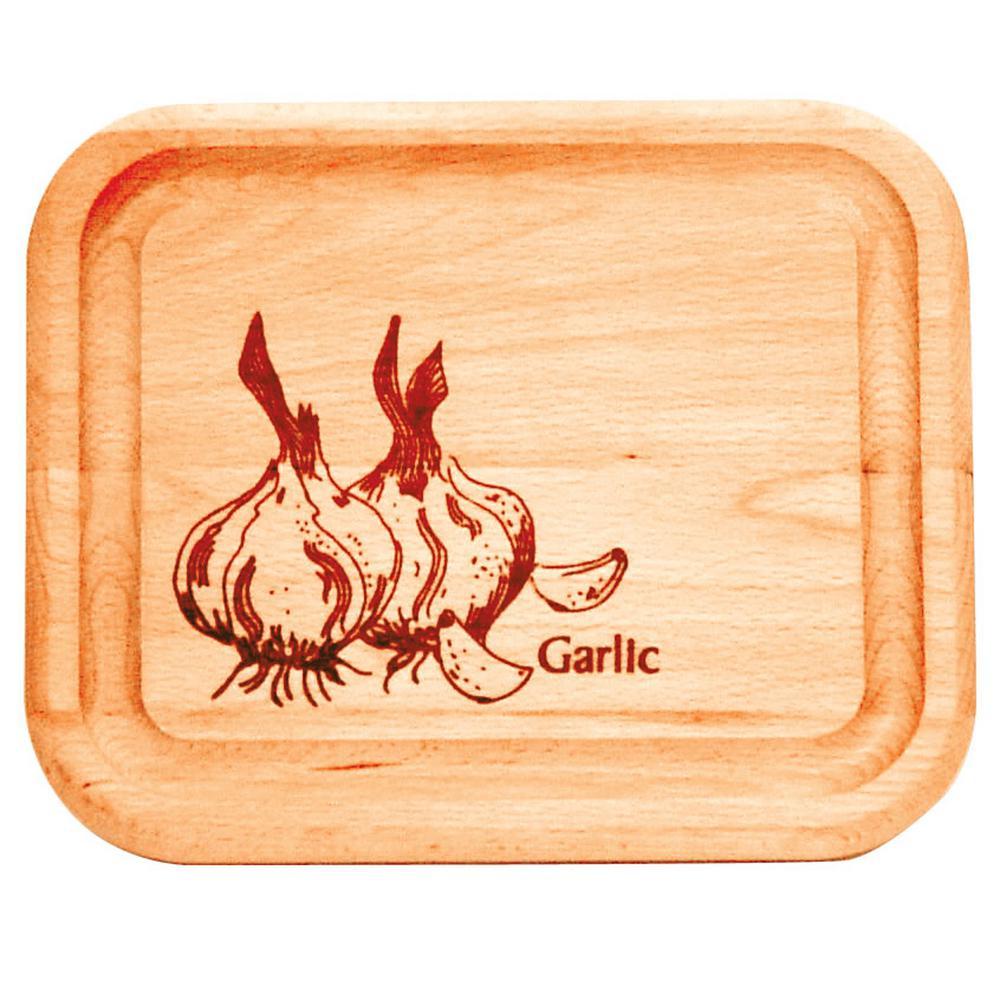 7 in. Wide Bar Board With Garlic Brand