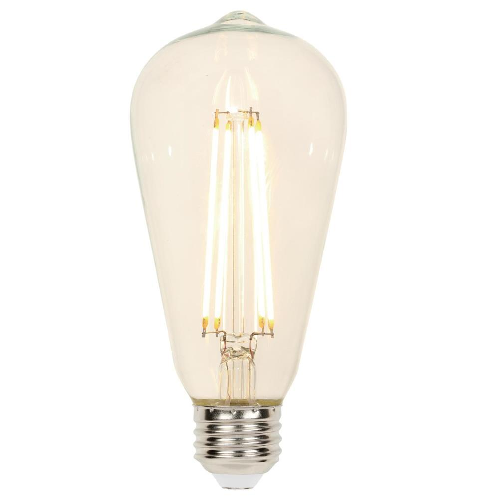 Westinghouse 40w Equivalent Amber St20 Dimmable Filament: Westinghouse 60-Watt Equivalent Clear ST20 Dimmable