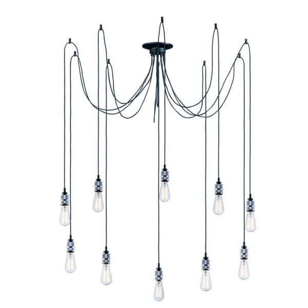 Swagger 10-Light Polished Chrome Pendant