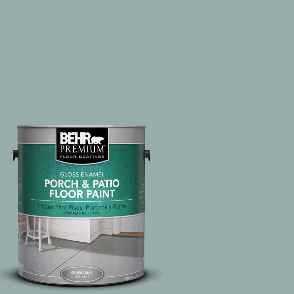 BEHR Premium 1 gal. #PFC-46 Barrier Reef Gloss Interior/Exterior Porch and Patio Floor Paint