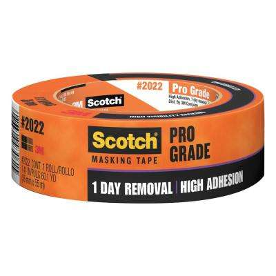 Scotch 1.41 in. x 60.1 yds. Pro Grade Masking Tape (Case of 24)
