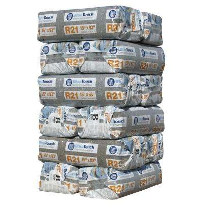 R-21 Denim Insulation Batts 15 in. x 93 in. (12-Bags)