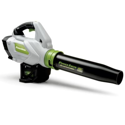 40-Volt Max Lithium-ion Brushless Motor Leaf Blower with Cruise Control Lever, Turbo-Boost, Battery and Charger