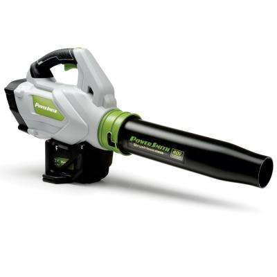 120 MPH 450 CFM 40-Volt Max Battery-Powered Cordless Leaf Jet Blower with Battery