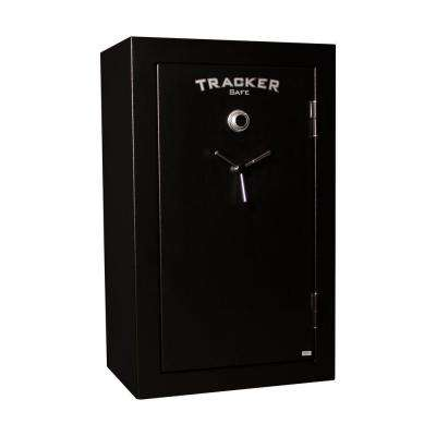 34-Gun Fire-Resistant Combination/Dial Lock, Black Powder Coat