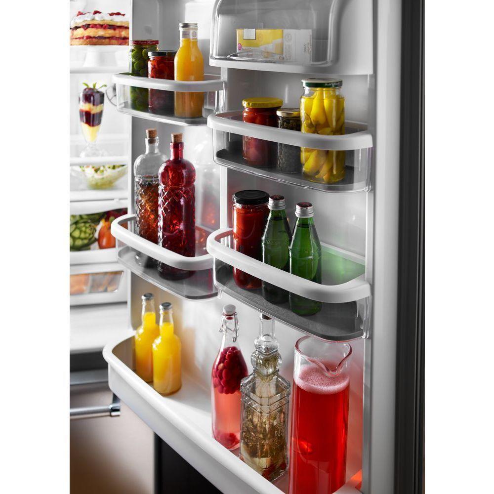 KitchenAid 22 cu. ft. Bottom Freezer Refrigerator in Stainless Steel