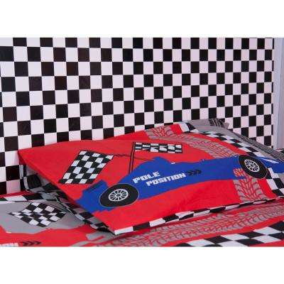 Monza Black and White Checker Board Design Self Adhesive Film