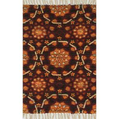 Aria Lifestyle Collection Spice 1 ft. 9 in. x 5 ft. Area Rug