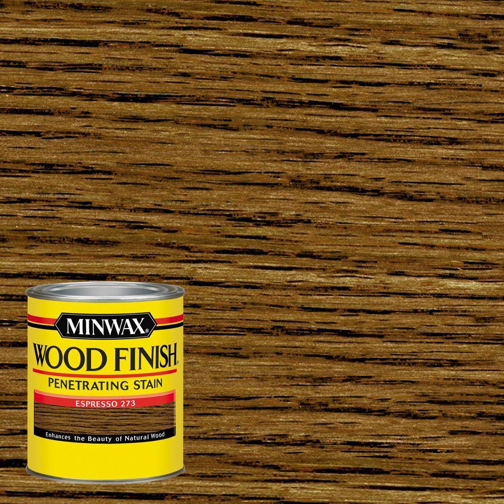 Minwax 1 qt. Wood Finish Oil Based Espresso Interior Stain